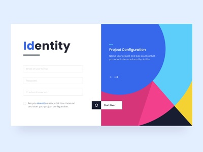 Dashboard Login - Project Management dribbble app design ui content creation uxdesign concept design dashboard ui uidesign adobe xd interaction design ui design
