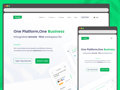 Employee Platform - Business website dribbble ui uidesign uxdesign employee engagement concept design dashboard ui interaction design adobe xd website design ui design