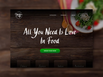 Food - Web UI