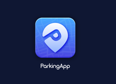 Parking App icon design