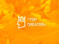 Top Creator Logo Design - Concept