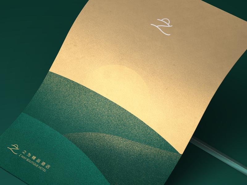 Z Way Hotel wingsbranding design illustration z logo