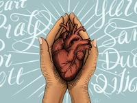 The heart pray for you