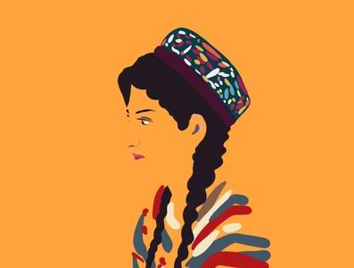 It's not tradition love badam ilyas uighur uyghur illustration
