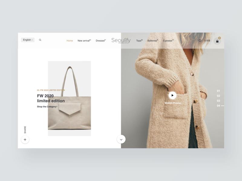 Fashion store website 服饰 商城 网页 应用 品牌
