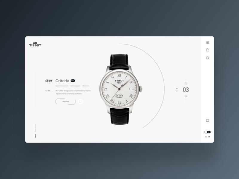 Watch of wrist of mall 设计 商城 手表 网页 品牌