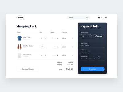 Shopping cart interface web 订单 用户界面 用户体验 购物 付款 设计 电子商务 类别 购物车 买 应用程序