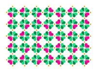 Heart/Clover Pattern