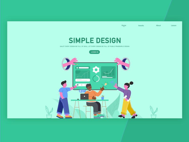 Official website website branding animation design illustrations  wallpaper ui