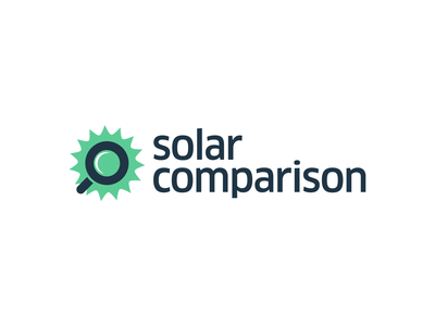 Solar Comparison logo illustration design graphic design minimal identity design idenity logos logo design logodesign logotype vector branding logo