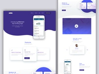 Landing Page For Abstract