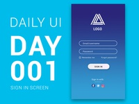 Daily Ui Challenge Day 01