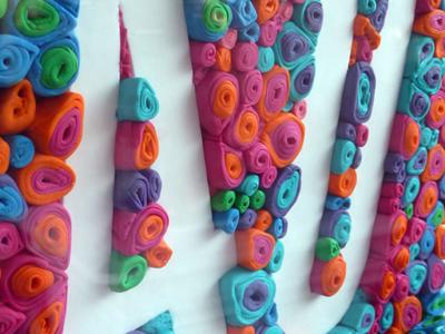 Celebrate 40 tactile typography cake edible