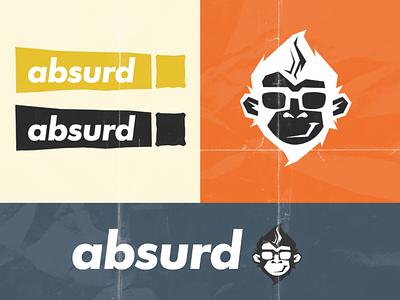 Absurd - Branding clothing brand mark identity identity design typography logo print illustration illustrator vector branding brand