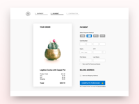 Daily UI Challenge #002- Credit Card Checkout