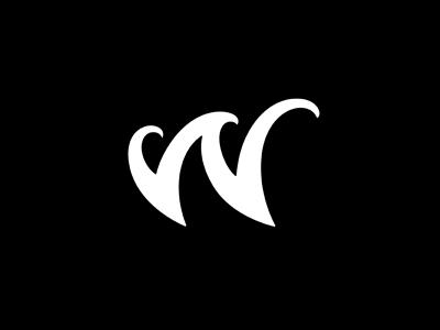 W w letter wave