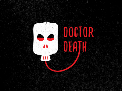 Dr. Death halloween blood doctor skull death