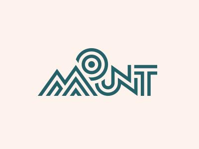 Mount sale lineart concept logo landscape climb extreme sun everest rock peak mount
