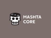 Mashtacore vynil dead skull music head