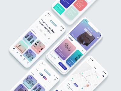 Parents' Box app design ux ui