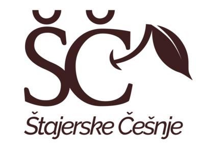 Štajerske Češnje  (Styrian sweet cherries) icon vector design cherries negative space logo