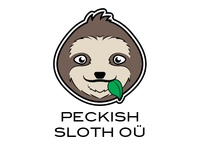 Peckish Sloth Logo