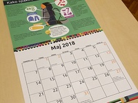 Calendar for Scout organization