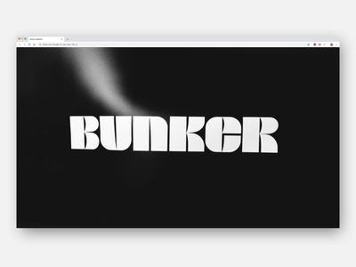 Bunker custom typography