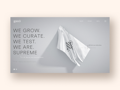 First draft Ganō — Supreme Certified CBD