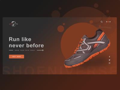 Shoeniverse - Landing Page