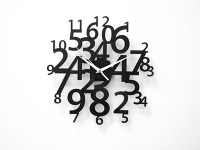 Chaos Clocks clocks design product design acrylic laser numbers chaos