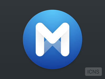 MPlayerX replacement icon mplayerx icon m round osx flat yosemite replacement sketchapp icns