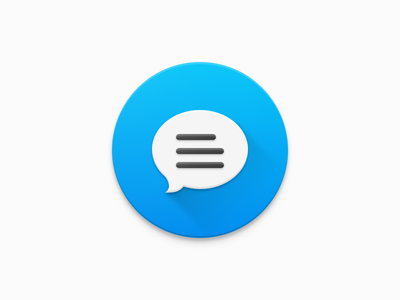 Feedback Icon feedback material icon sketchapp flat bubble message send review