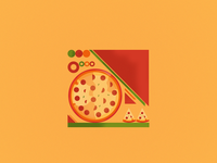 Illustration pizza