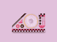 Illustration donuts
