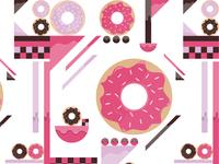 Illustration donuts