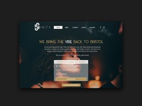 Unity Lounge Bar Website Design