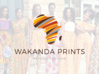 Final logo - Wakanda Prints