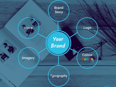Essential elements of a brand style - Infographic brand style guide brand style branding brand info card info graphic design