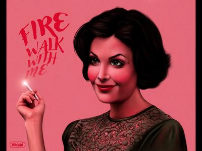 Twin Peaks fanart | Audrey Horne | iPad Pro + Wacom