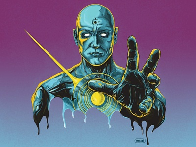 Dr. Manhattan | Watchmen | Superhero comic art
