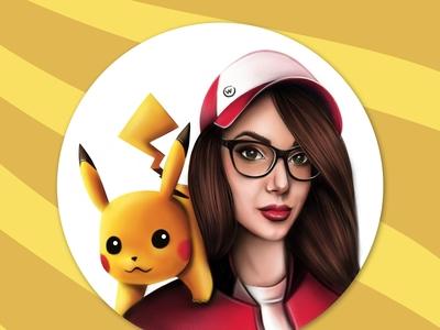 Me and Pikachu | Detective Pikachu | Pokemon art
