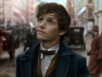 Newt Scamander fan art | Fantastic Beasts and Where to Find Them
