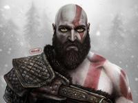 Kratos | God of war fan art | PlayStation game