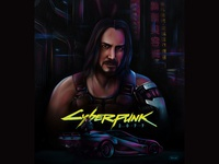 JOHNNY SILVERHAND | Cyberpunk2077 fan art | CD Projekt RED