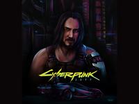 JOHNNY SILVERHAND | Cyberpunk2077 fan art | CD Projekt RED
