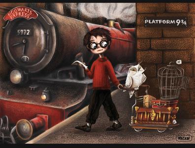 Harry Potter art   Character Design   iPad Pro + Wacom