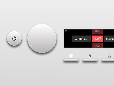 Oven concept smart kitchen smart home user interaction user interface concept embedded software product design product design platform