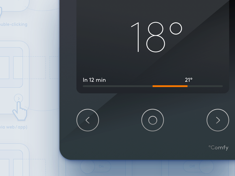 Smart Thermostat Concept By Remco Homberg