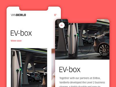 VanBerlo app interaction-design digital branding product design app typography ui user interface concept design